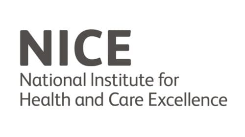 Logo for NICE - National Institute for Health and Care Excellence