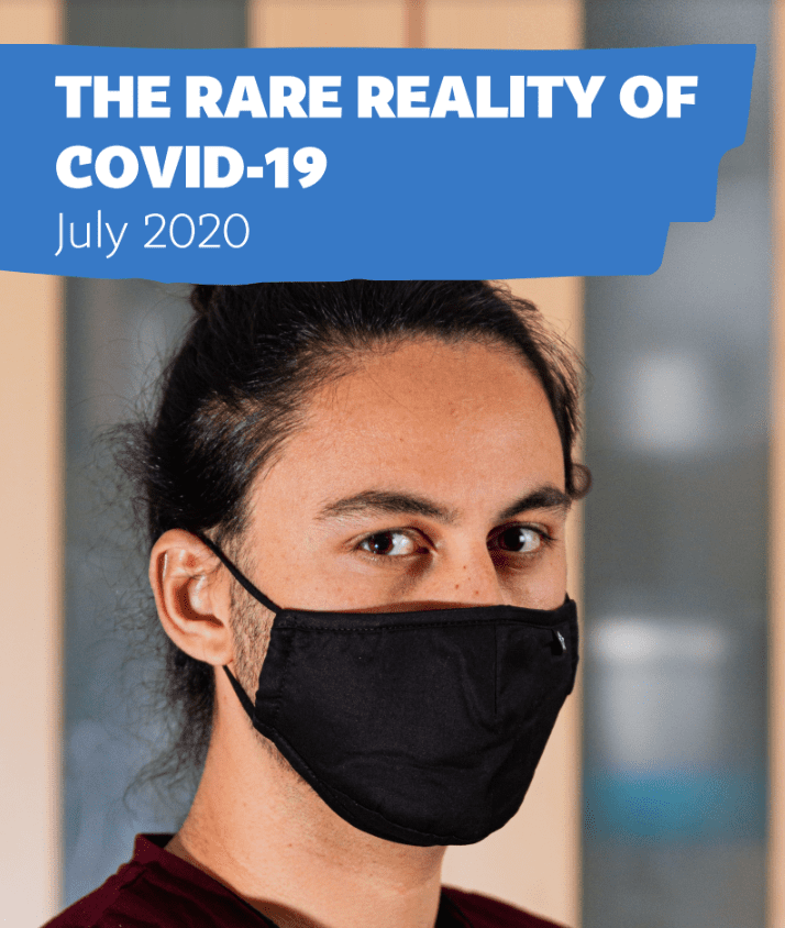 The Rare reality of Covid-19 (July 2020)