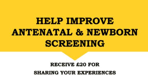 Antenatal Newborn screening